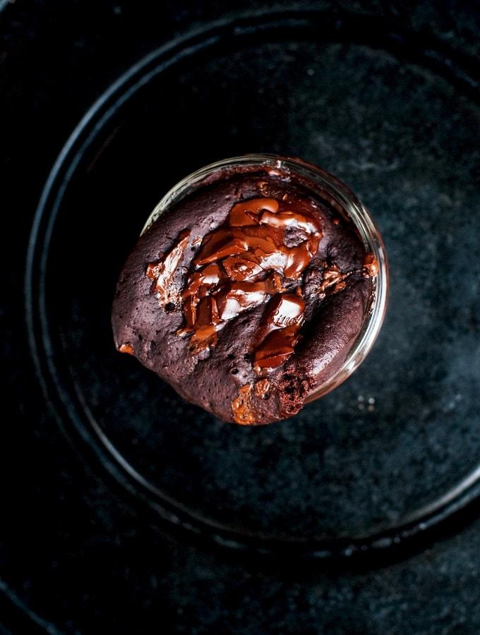 Schoko Mug Cake – Tassenkuchen aus der Mikrowelle