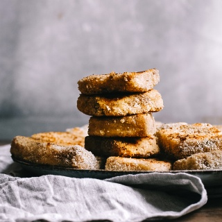 Breaded Vegan Semolina Slices
