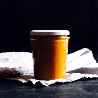 Süße Kürbis-Dattel-Creme – Perfekt als Brotaufstrich, Topping oder Dip