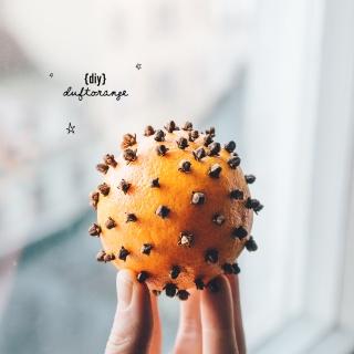 DIY Duftorange – Weihnachtsdekoration und natürlicher Raumduft
