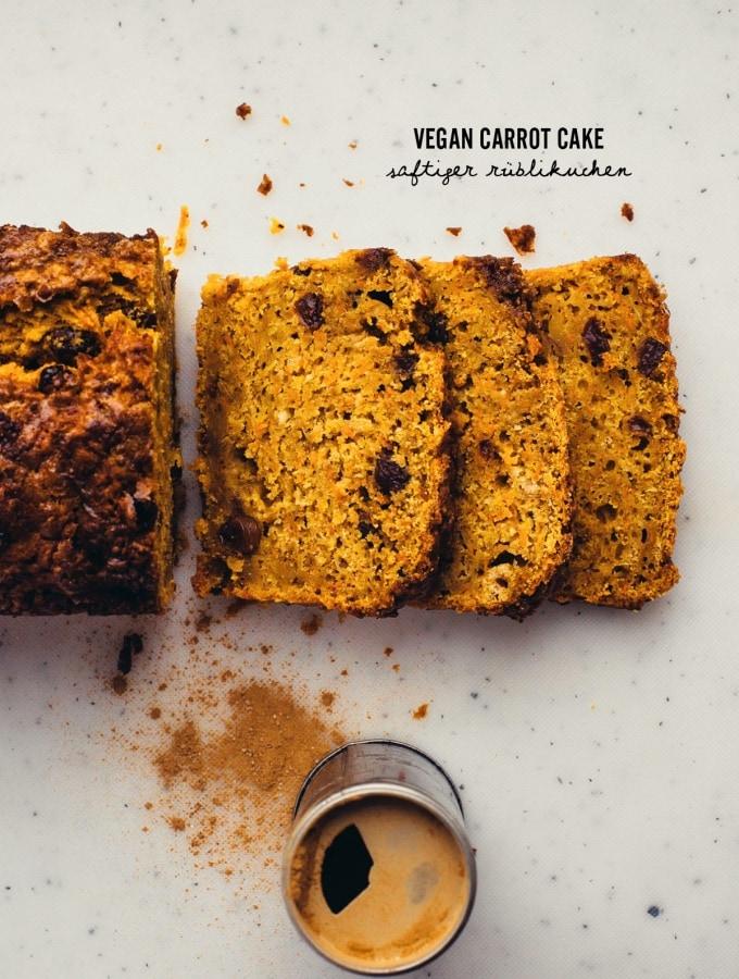 Vegan Carrot Cake – saftiger Rüblikuchen zum Verlieben