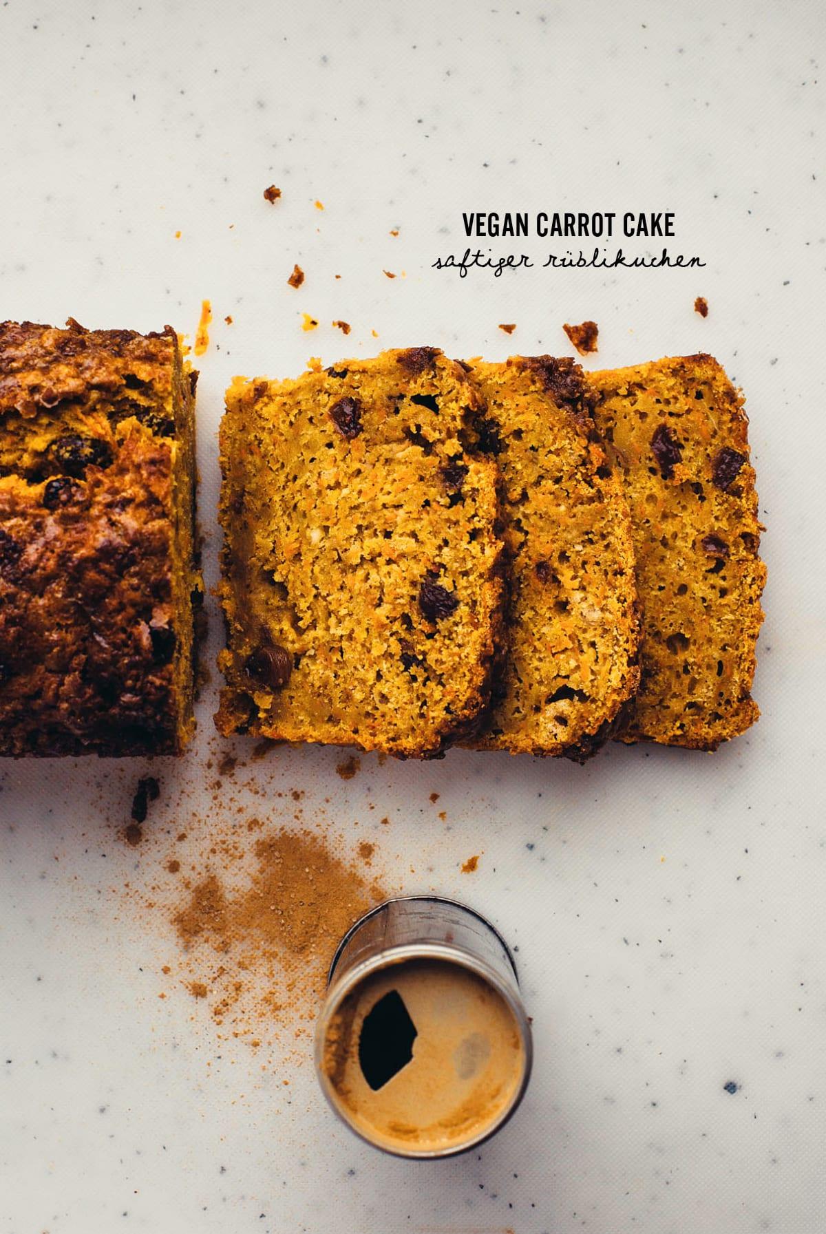Vegan Carrot Cake Saftiger Rublikuchen