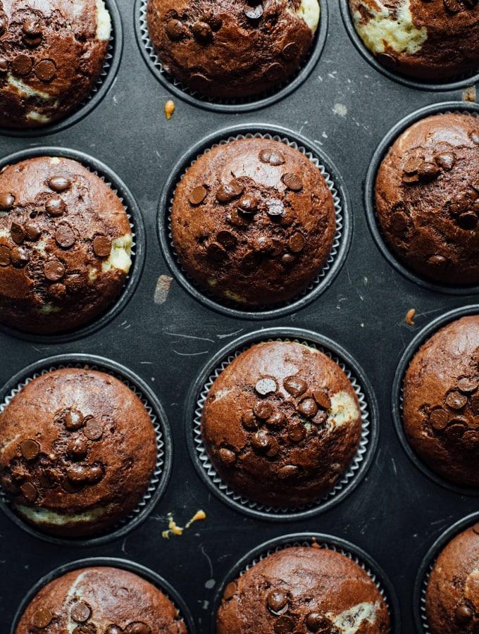 Marmorkuchen-Muffins – luftig, locker, lecker!