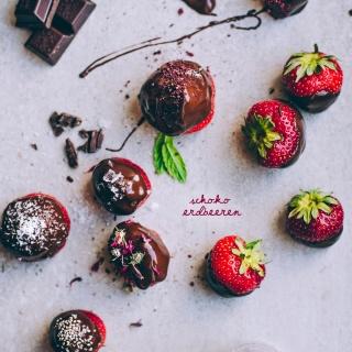Schoko-Erdbeeren – fruchtig Naschen im Sommer