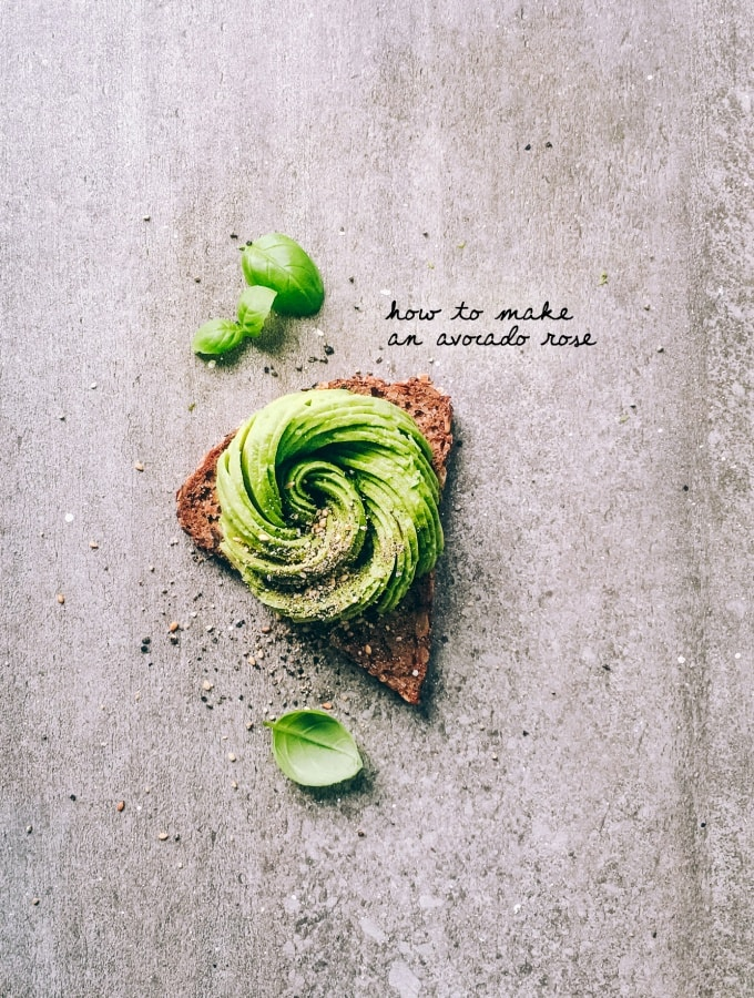 How to make an Avocado Rose: Step by Step zur perfekten Avocado-Rose