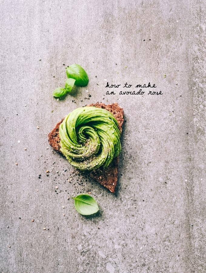 How to make an Avocado Rose: Step by Step zur perfekten Avocado-Rose
