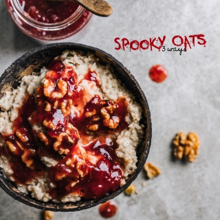 Spooky Oats – 3 Inspirationen für euer Halloween-Oatmeal