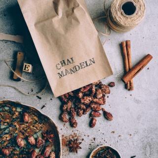 Gebrannte Chai-Mandeln