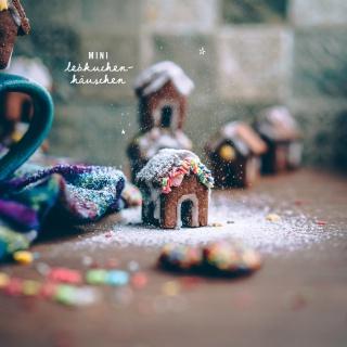 Knusper, knusper Knäuschen – Mini Lebkuchenhäuschen