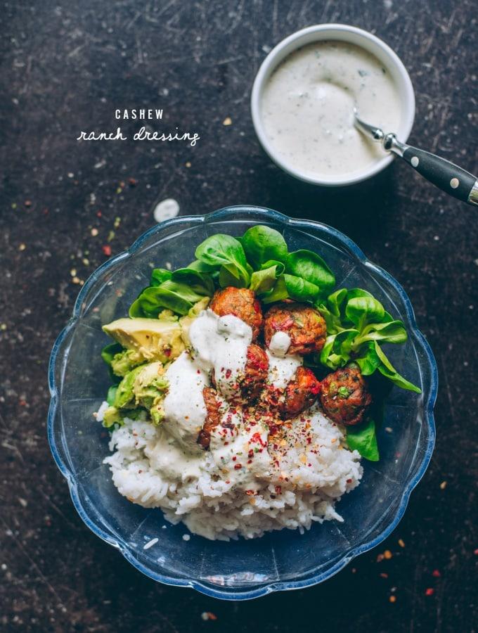 Cashew Ranch Dressing – ein Allrounder für Salate, Bowls und vieles mehr