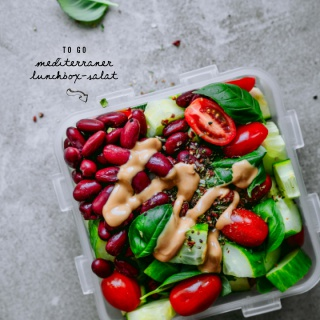 Mediterraner Lunchbox-Salat to go