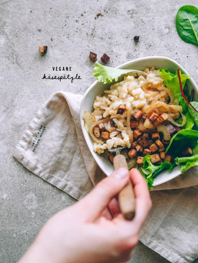Vegane Käsespätzle – simpel und lecker!